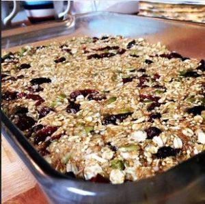Toasted Quinoa Bars