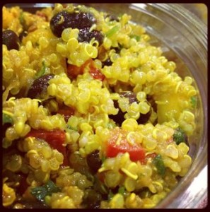Curry Quinoa Salad